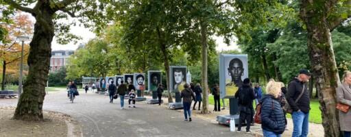 Tentoonstelling Open Mind in park