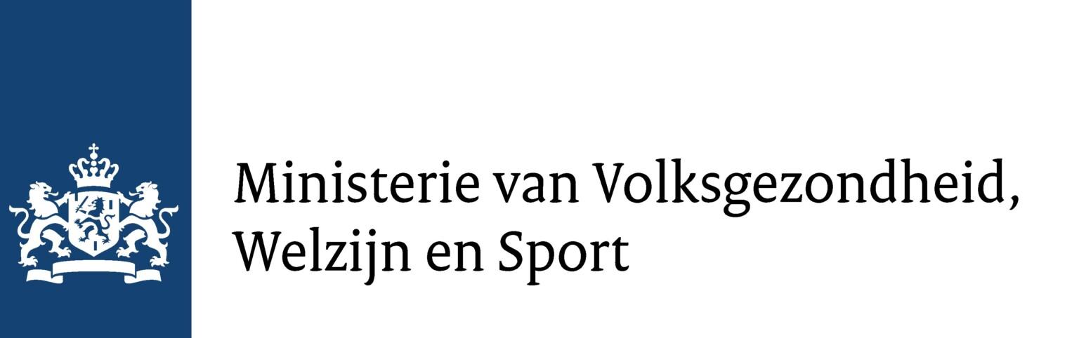 Logo ministerie van Volksgezondheid, Welzijn en Sport (VWS)